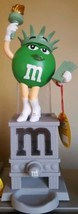 "M&M's World chocolate CANDY DISPENSER STATUE OF LIBERTY 11"" Collector's ... - $46.74"