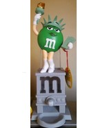 """M&M's World chocolate CANDY DISPENSER STATUE OF LIBERTY 11"""" Collector's ... - $89.35"""