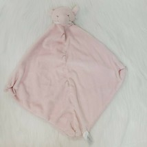 Angel Dear Pink Elephant Baby Lovey & Security Blanket Knotted Corners B419 - $9.97