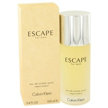 Escape By Calvin Klein Eau De Toilette Spray 3.4 Oz 412995 - $28.65