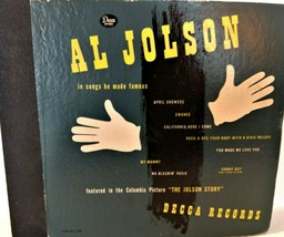 Vintage 4 Record Set 78 RPM Al Jolson Songs He Made Famous Decca - $34.99