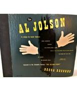Vintage 4 Record Set 78 RPM Al Jolson Songs He Made Famous Decca - $34.99