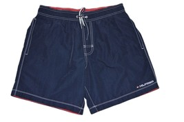 Tommy Hilfiger Mens Shorts Swimwear Size Small Navy Blue Trunks - $29.99