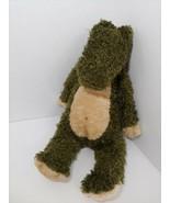 JELLYCAT JUNGLIE BUNGLIE plush Dark Green Tan Alligator Crocodile Dinosa... - $64.35