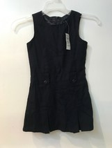 Children's Place School Uniform NAVY BLUE Dress Jumper Girls SIZE 4 slee... - $12.95