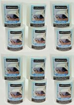 Lot 12 Luminessence Fresh Linen Scented Pillar Candles 2.5 In. X 2.8 In.... - $44.54