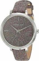 New Michael Kors MK7111 Charley Three-Hand Brown Leather Women Watch - $148.50