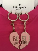 KATE SPADE NEW ARCHIE COMICS BETTY VERONICA BEST FRIENDS KEY RING CHAIN FOB - $48.00