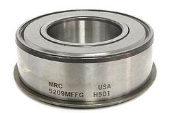 LOT OF 2 NEW MRC 5209MFFG-H501 BALL BEARING DOUBLE ROW 45MM BORE 85MM OD image 4