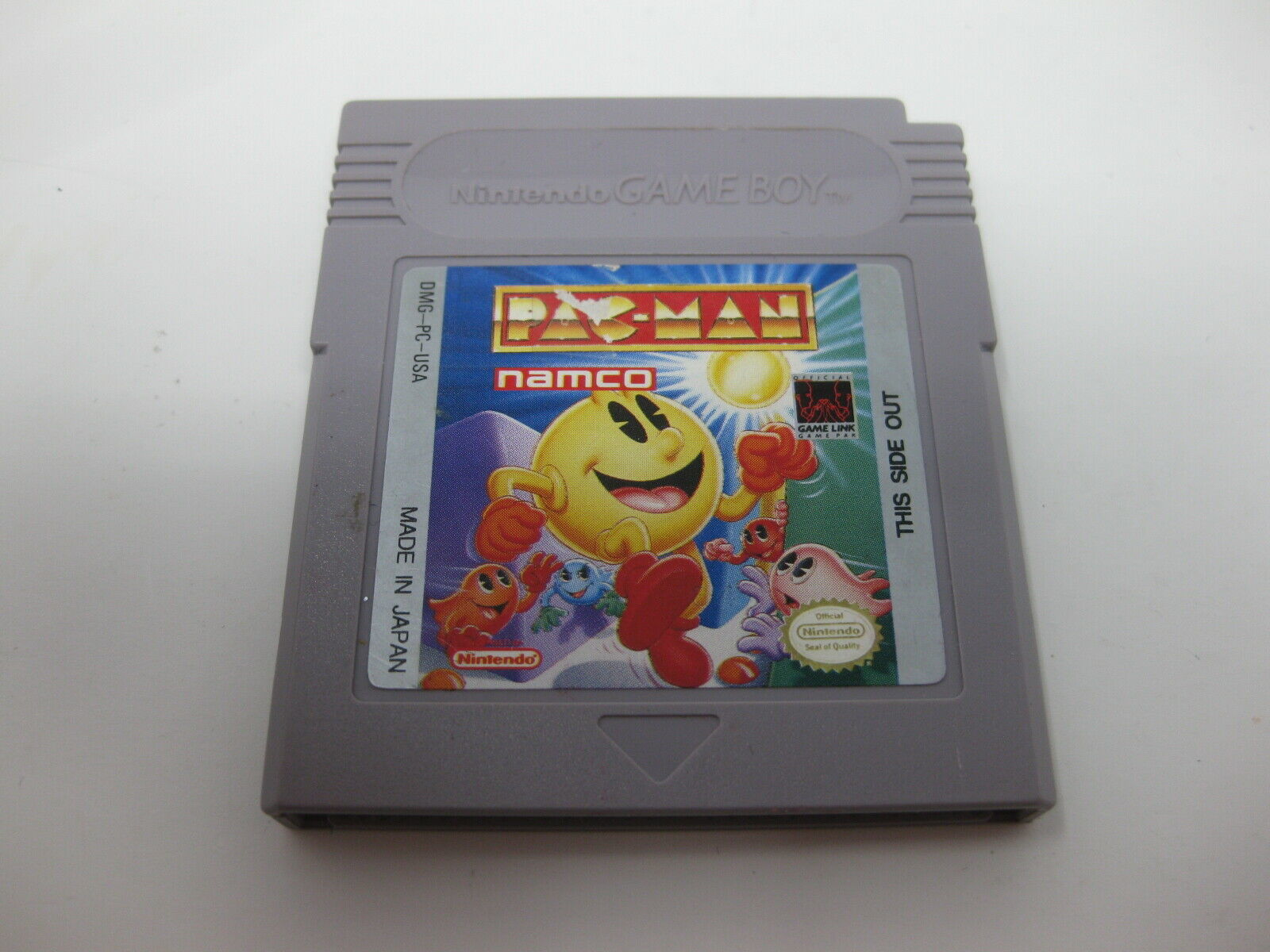 Pac Man GREY (Nintendo Gameboy GB) Cart Only GREAT Shape Game Boy