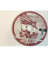 VIDEO GAME DISC ONLY DVD ROM COMPUTER PC AMERICAN CONQUEST 2005 CIVIL WA... - $14.85