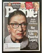 People magazine October 5th Ruth Bader Ginsburg Ellen Dolly Parton RGB - $5.72