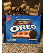 NEW Nabisco Oreo Tiramisu Flavor Creme Sandwich Cookies LIMITED EDITION - $11.95