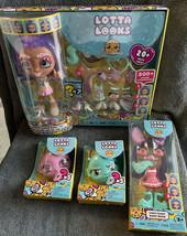Lotta Looks Rainbow Sugar Rush Cookie Swirl Doll Surprises Keychain Donu... - $24.71