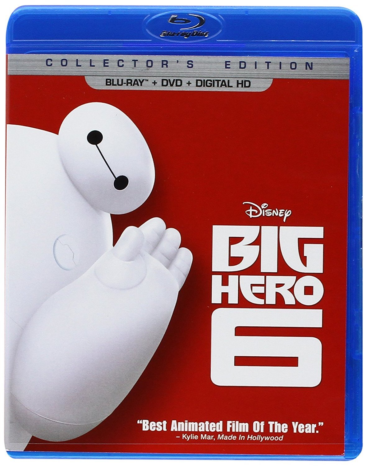 Disney Big Hero 6 (Blu-ray + DVD + Digital)