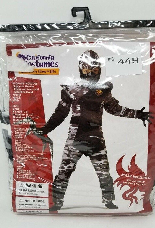 Arctic Winter Forces Ninja Kids Costume Dress Up California Costumes 00341 Camo