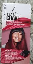Clairol Color Crave Semi- Permanent Color- Scarlet , 2.0 fl oz - $4.85
