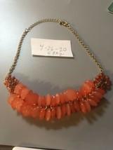 Vintage Pretty Orange Choker - $7.83
