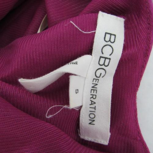 BCBG Generation Dress Womens Small S Purple