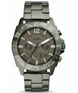 NWT FOSSIL PRIVATEER SPORT SMOKE CHRONOGRAPH STAINLESS STEEL 45mm WATCH ... - £80.45 GBP