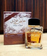 Pure Khalis Oudi Perfume By Lattafa Perfumes 100 MLOn Par w/ Creed Royal Oud - $33.25