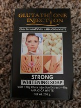 Glutathione Injection strong whitening soap Gluta 150G injection.+AHA GI... - $28.71