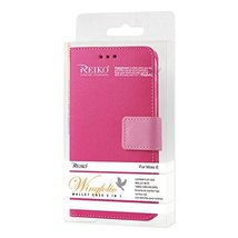 Reiko Wireless Cell Phone Case for Motorola Moto E - Hot Pink - $21.76