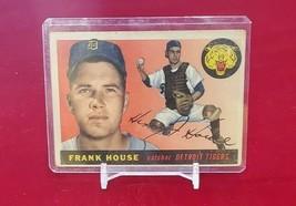 1955 Topps Set Break # 87 Frank House  - $1.00