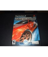 Need for Speed: Underground (Sony PlayStation 2, 2003) - No Manual - $6.72