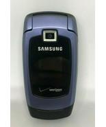 Samsung SCH-U340 Verizon Blue Flip Phone Read Description - $4.99