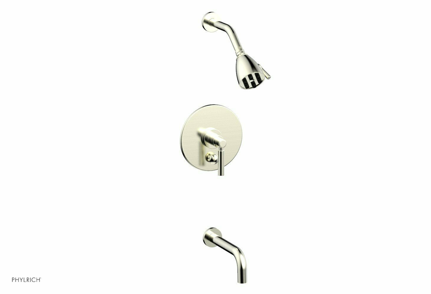 "Primary image for PHYLRICH BASIC Pressure Balance Tub and Shower Set - 7 1/2"" Spout DPB2130"