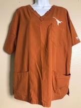 May Hill Uniforms Women Size 2XL Burnt Orange Scrubs University Of Texas - £7.46 GBP