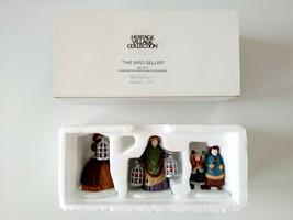 Dept 56 The Bird Seller Set of 3 Figurines Heritage Village Collection 5... - $14.84