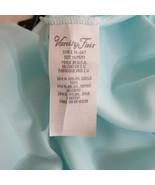 Vintage Vanity Fair Pajama Set Size M Blue Short Sleeve Top Long Pants USA  - $128.65