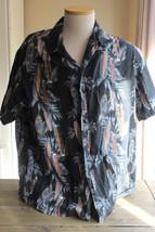 Vintage Aloha Line Surfboard Hawaiian Shirt XL - $14.84
