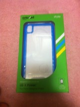 Cricket Cell Phone CASE--LG X POWER--ALGF5133--BLUE----FREE SHIP---NEW - $17.21