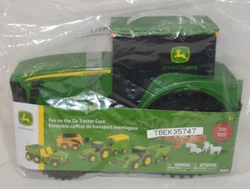 John Deere TBEK35747 Fun On The Go Tractor Case Includes 18 Pieces