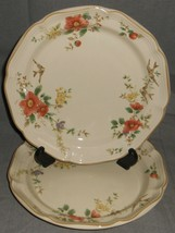 Set (2) 1980s Mikasa Heritage - C API Strano Pattern Dinner Plates Made In Japan - $59.39