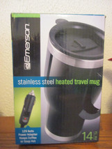 Emerson 14 oz stainless steel heated travel mug - $12.99