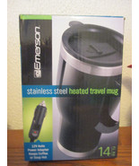Emerson 14 oz stainless steel heated travel mug - $12.99