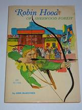 Rare Robin Hood of Sherwood Forest Ann McGovern 1968 1st Print Scholastic Book [ - $15.44