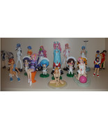 Japan Anime Figures Lot Of 22 Gundam Evangelion Sakura War Maicching Mac... - $101.52