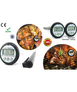 Latest Generation Accurate Pocket-size Digital BBQ / Cooking Thermometer - $6.50