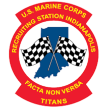 USMC Recruiting Station Indianapolis Sticker - $9.89