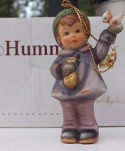 Berta Hummel Studio Christmas Ornament Peaceful Perch Collectible From 1999 - $14.52