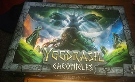Yggdrasil Chronicles Board Game Complete Tree Nordic Game - $43.56