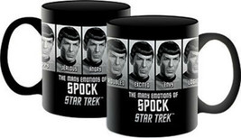 Classic Star Trek The Many Emotions of Spock Photo Ceramic Coffee Mug NE... - $9.74