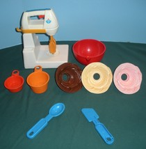 Vintage Fisher Price Fun with Food #2114 Mixing Center Complete NR MINT-... - $65.00