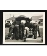 LIFE MAGAZINE Photograph Owen First Car 9x12 Lithograph Portfolio Print - $23.19