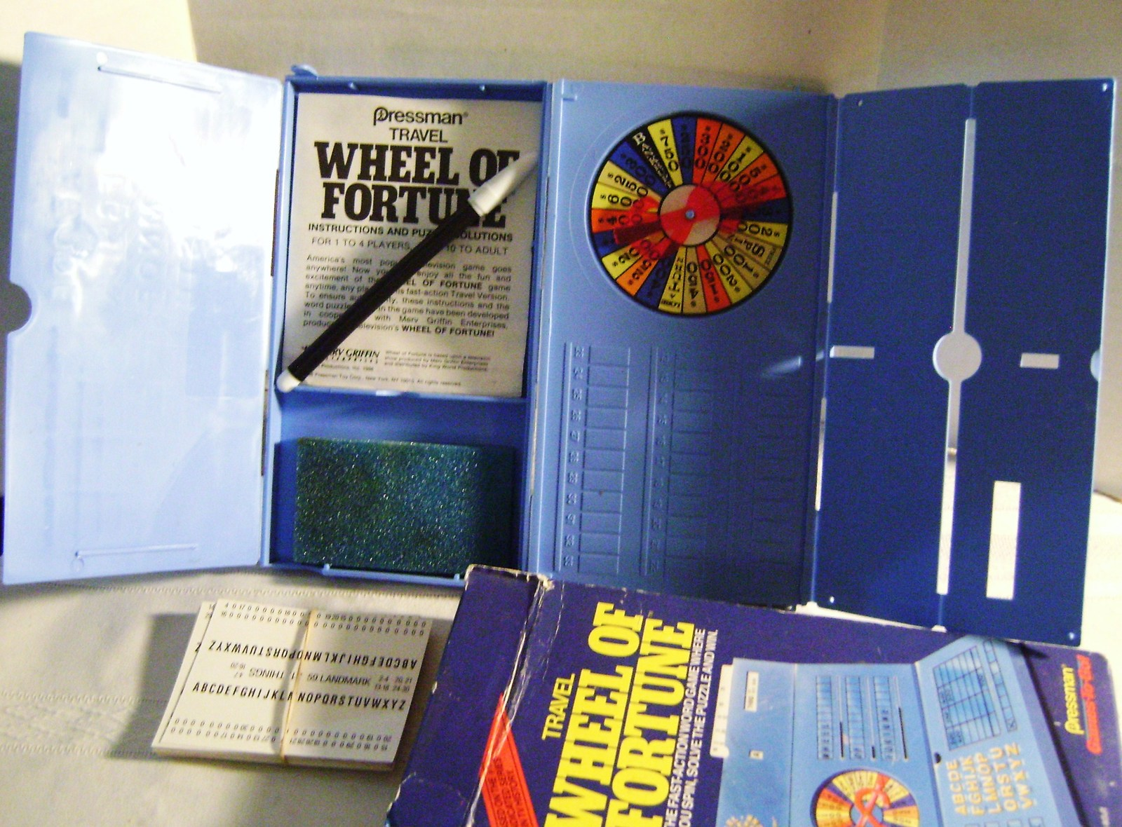 1988 Wheel Of Fortune Travel Game - $15.00